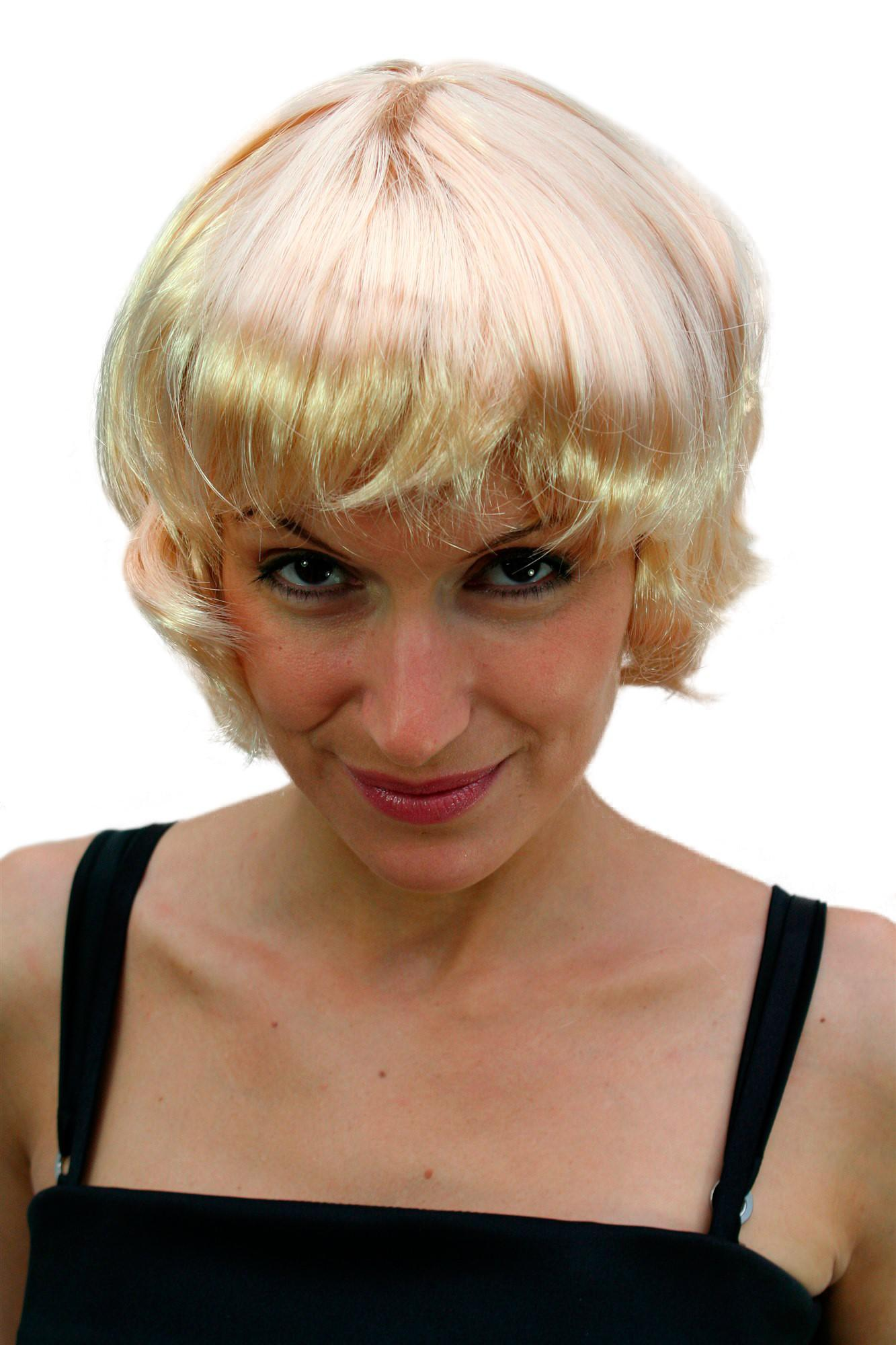 per cke blond kurz bob party wig perr cke neu ovp kaufen bei vk event fashion gmbh. Black Bedroom Furniture Sets. Home Design Ideas