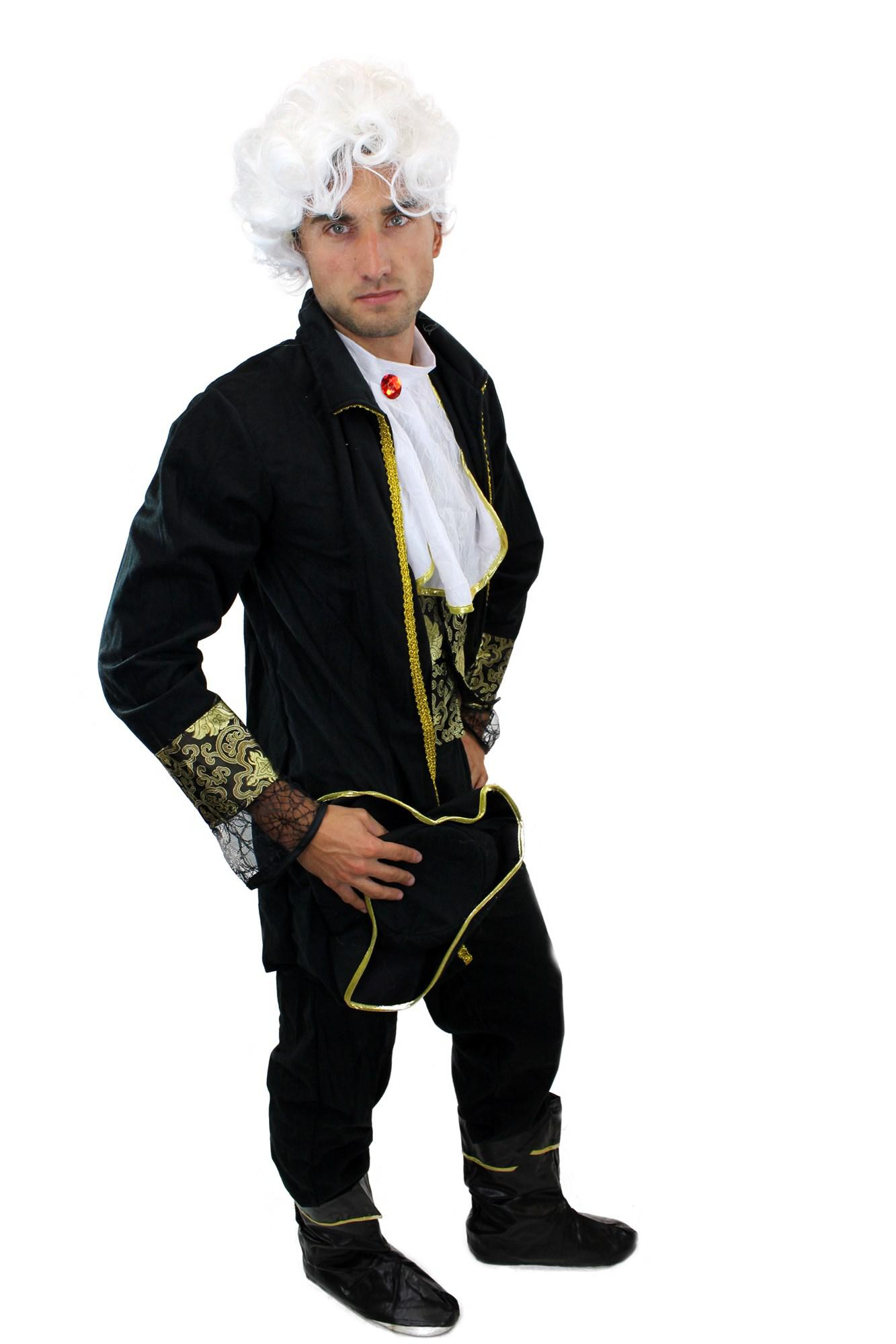 komplettset kost m herren herrenkost m barock pirat edelmann edler lord l012 kaufen bei vk. Black Bedroom Furniture Sets. Home Design Ideas