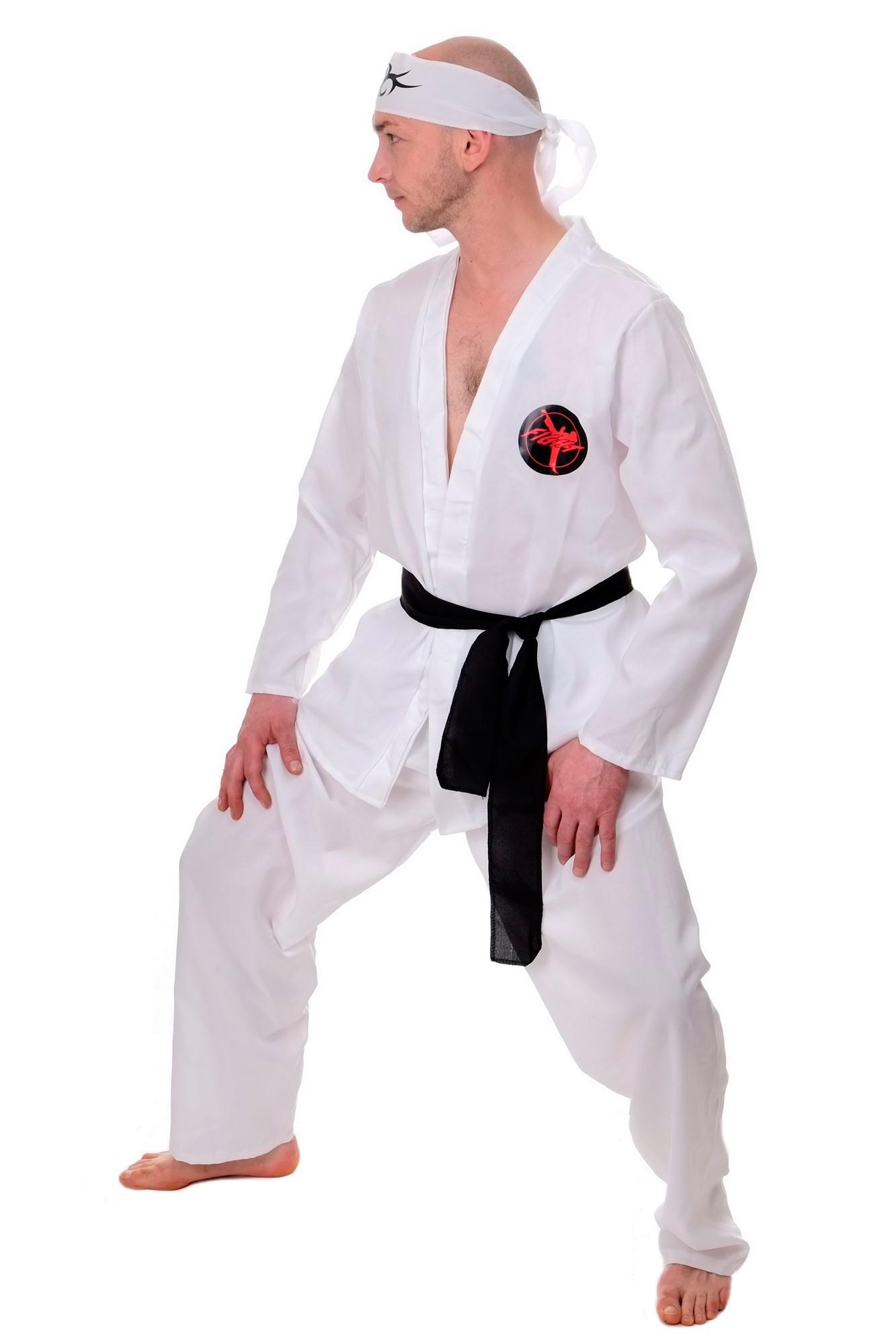 dress me up kost m herren herrenkost m 80er karate ninja kungfu action gr s m kaufen bei vk. Black Bedroom Furniture Sets. Home Design Ideas