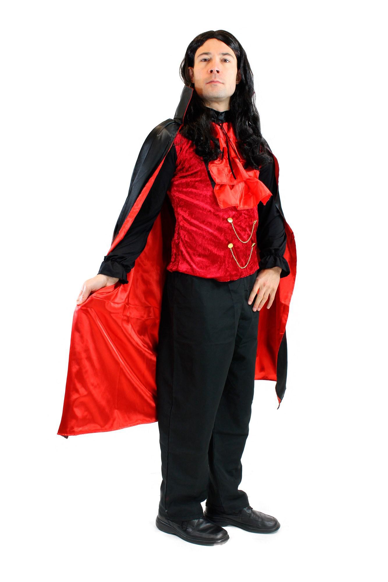 dress me up kost m herren dracula vampir dunkler graf. Black Bedroom Furniture Sets. Home Design Ideas