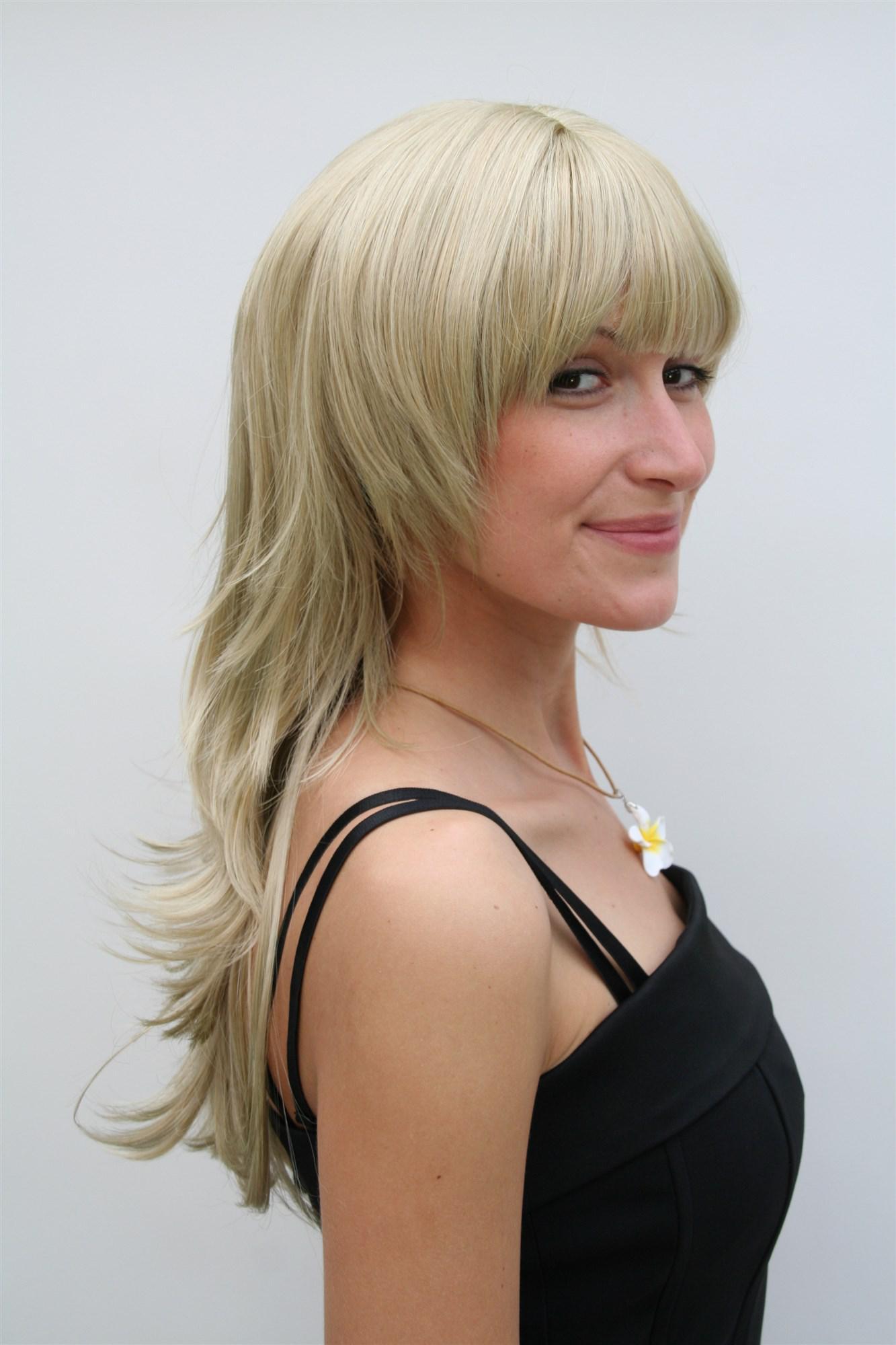 Mittellange Haare Stark Durchgestuft Mittellange Haare