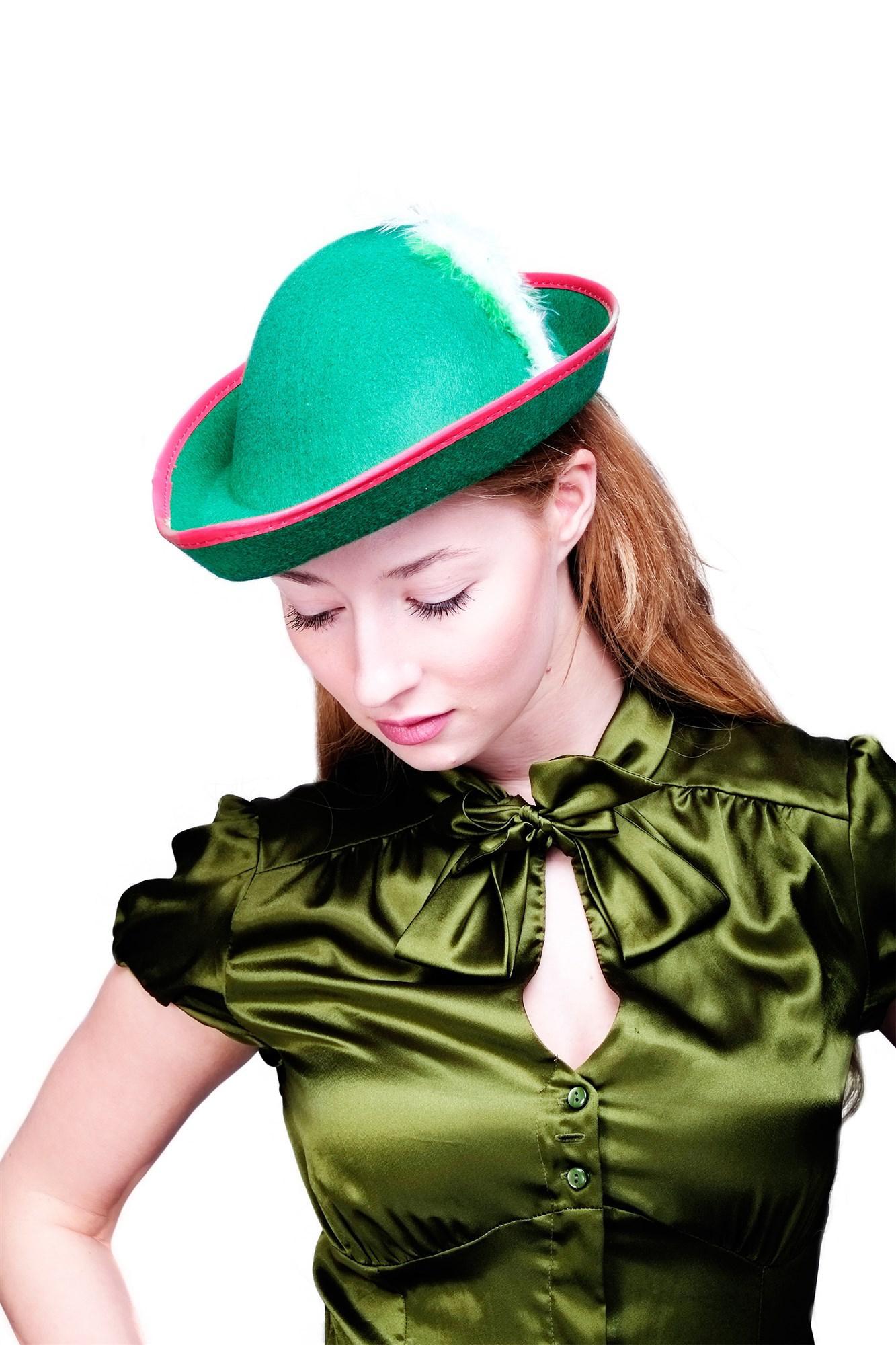 dress me up hut fasching karneval damen herren robin hood j ger tiroler gr n h17 kaufen bei vk. Black Bedroom Furniture Sets. Home Design Ideas