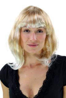 Faschingsperücke Niedlicher Look Blond-Mix Perücke LM