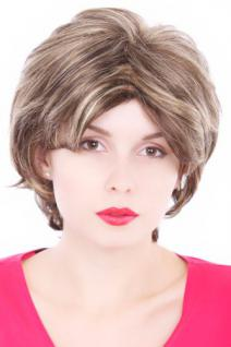 Perücke, Wig, Hell-Dunkel-Blond-Mix, kurz, Länge: ca. 35 cm, GFW125-AB300