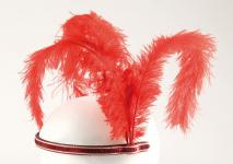 Rubies: Stirnreif Charleston rot Modell 4/170762 Burlesque 20er Jahre Party