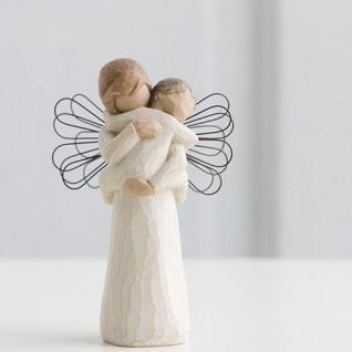 engel der umarmung angel of embrace schutzengel von willow tree kaufen bei garten traum d fte. Black Bedroom Furniture Sets. Home Design Ideas