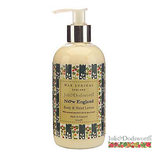 New England Hand & Body Lotion Julie Dodsworth