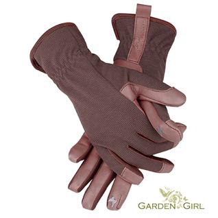 Lederhandschuhe von GardenGirl Gr. M (8)