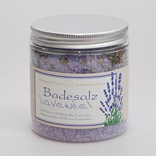 Lavendel Badesalz klassisch von FLOREX 300g
