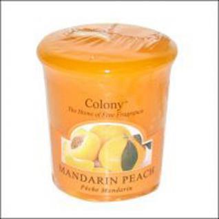 Mandarin Peach Duft Votivkerze Colony
