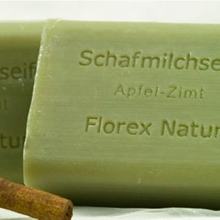 Apfel-Zimt Florex Schafmilchseife 100g