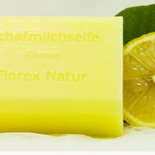 Zitrone Florex Schafmilchseife 100g