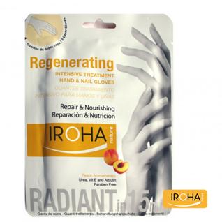 Hand & Nail Mask Peach - regenerierend und nährend - Iroha Nature