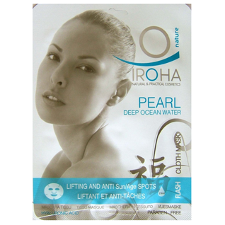 Gesichtsmaske Pearl Deep Ocean Water - lifting - Iroha Nature