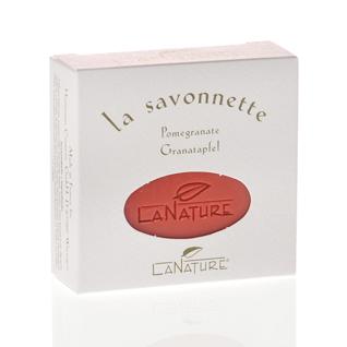 Granatapfel Pflanzenölseife 100g von LaNature
