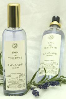 Lavendel Eau de Toilette Savonnerie de Bormes 100ml
