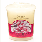 Vanilla & Cranberry Duft Votivkerze Colony