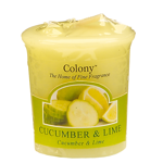 Cucumber and Lime Duft Votivkerze Colony