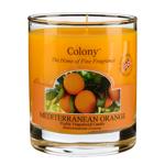 Mediterranean Orange Colony Duftkerze im Glas 35h