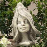 Blumenkind Schneeglöckchen Gartenfigur 20cm von Zauberblume