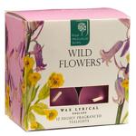 Wild Flowers Teelichter 12 Stück Colony RHS Classic Garden