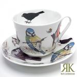 Jumbotasse Garden Birds von Roy Kirkham 420ml