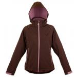 GardenGirl Softshell Outdoor Jacke braun Größe XL