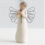 Engel der Liebe mit Rose Angel loving with Rose Schutzengel von Willow Tree
