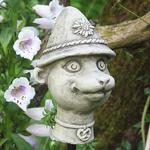 Erdmännchen Kopf Franzi klein von Zauberblume