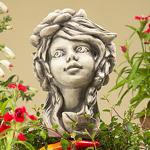Blumenkind Sternwurz Gartenfigur 20cm Zauberblume