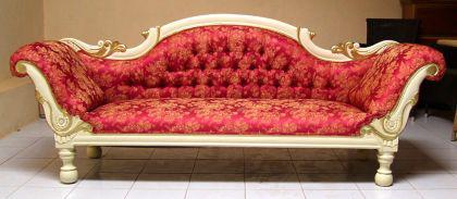 wundersch ne couch recamiere ottomane mahagoni kaufen bei manfred kiep einzelhandel. Black Bedroom Furniture Sets. Home Design Ideas