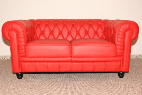 couchgarnitur sofa couch 1 2 3 sitzer hochwertiges italy leder in rot kaufen bei manfred. Black Bedroom Furniture Sets. Home Design Ideas