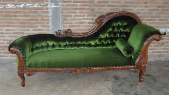 couch recamiere ottomane mahagoni kaufen bei yatego. Black Bedroom Furniture Sets. Home Design Ideas