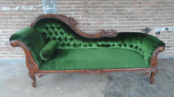 edle couch recamiere ottomane mahagoni kaufen bei manfred kiep einzelhandel. Black Bedroom Furniture Sets. Home Design Ideas