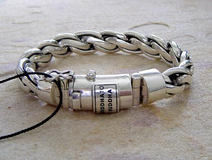 Buddha to Buddha Armband Kadek Lady & Men Unisex 925 Sterling Silver - Vorschau