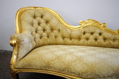 neu tolle couch recamiere ottomane im antiken stil mahagoni kopfteil rechts kaufen bei. Black Bedroom Furniture Sets. Home Design Ideas