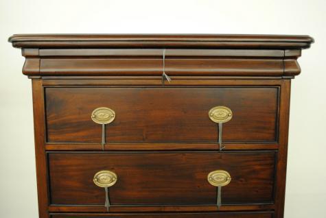 Kommode aus der Serie Vanessa Italy Mahagoni Handarbeit brown Walnuss Premium Qualität - Vorschau 3