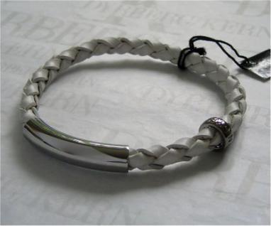 Dyrberg Kern Leder Armband Sona SS / White