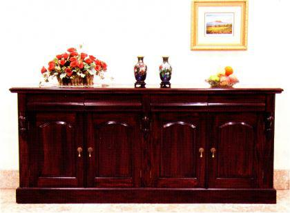 traumhaftes buffet victorian style sideboard mahagoni. Black Bedroom Furniture Sets. Home Design Ideas