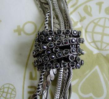 KONPLOTT Y-Kette Gordian Knot black antique silver - Vorschau 2