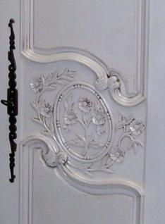 Kleiderschrank Hochzeitsschrank antik white Mahagoni massiv ein Traum - Vorschau 2