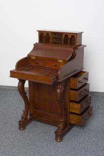 Englischer Chippendale Sekretär Schreibtisch Mahagoni - Vorschau 2