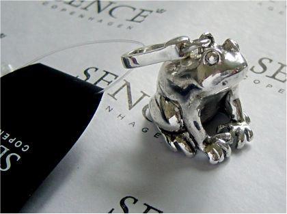 Anhänger Frog silver von SENCE COPENHAGEN - Vorschau
