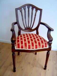 Wunderschöner Stuhl Mahagoni Louis Stil - Vorschau
