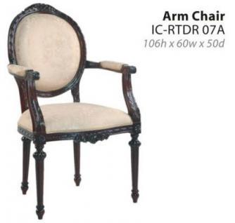 6 Stühle Mahagoni Riton 4 ohne 2 mit Armlehne - Vorschau 2