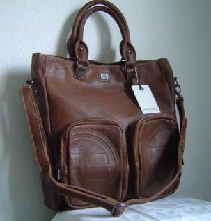 Buddha to Buddha Tasche Shopper Bag Zip Pocket Bag Farbe cognac