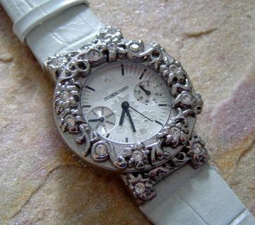 Dyrberg Kern Traumhafte Schmuck-Uhr ESPALLIER S/CRYSTAL Sale %%% Sale OVP 249 € - Vorschau 2