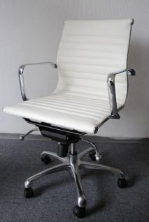 914567 Bürostuhl Schreibtischstuhl Chefsessel Drehstuhl schwarz orange