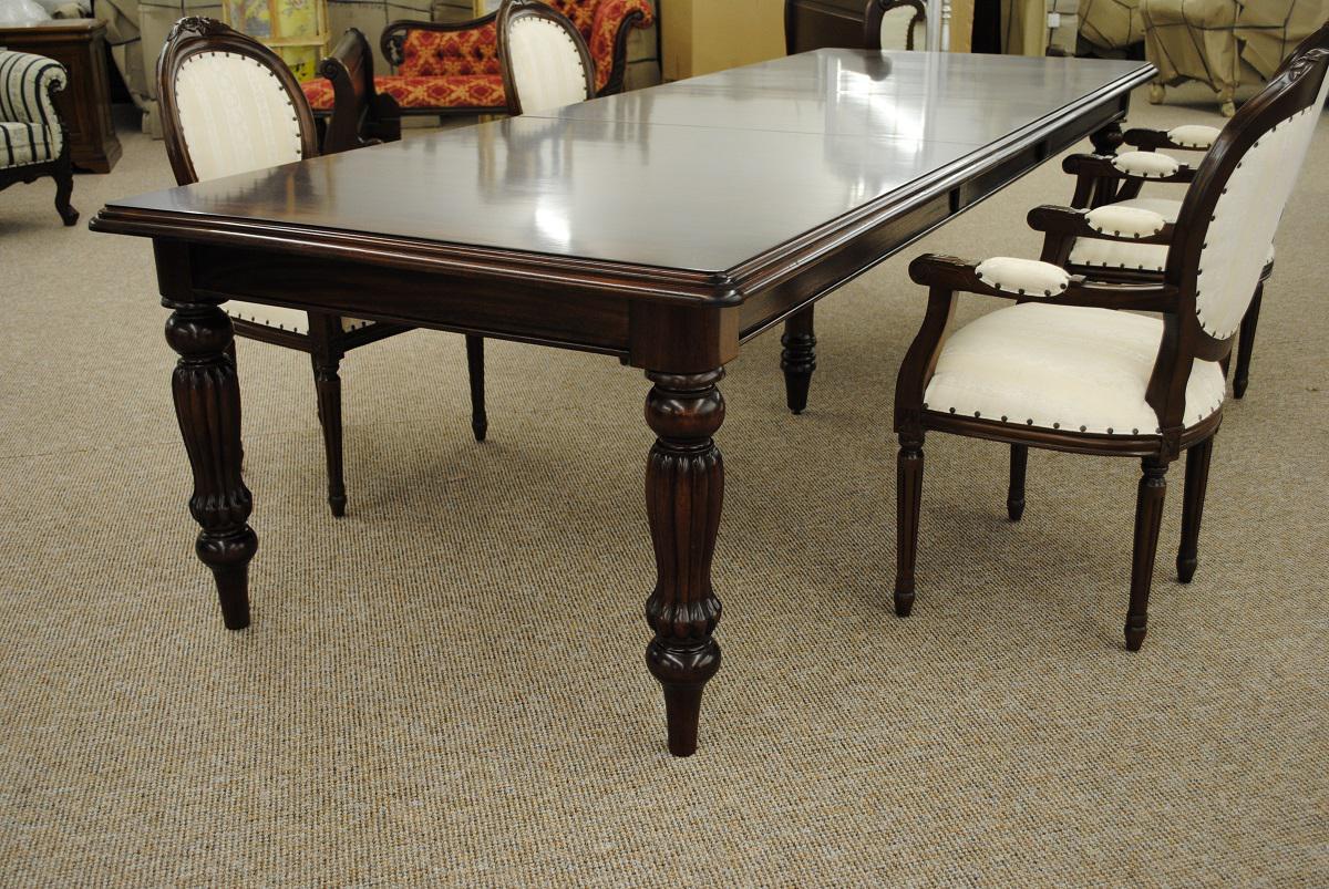 tisch esstisch mahagoni louis stil riesig lang 330 kaufen bei manfred kiep einzelhandel. Black Bedroom Furniture Sets. Home Design Ideas