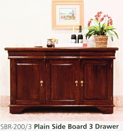schrank buffet sideboard massiv mahagoni kolonialstil. Black Bedroom Furniture Sets. Home Design Ideas